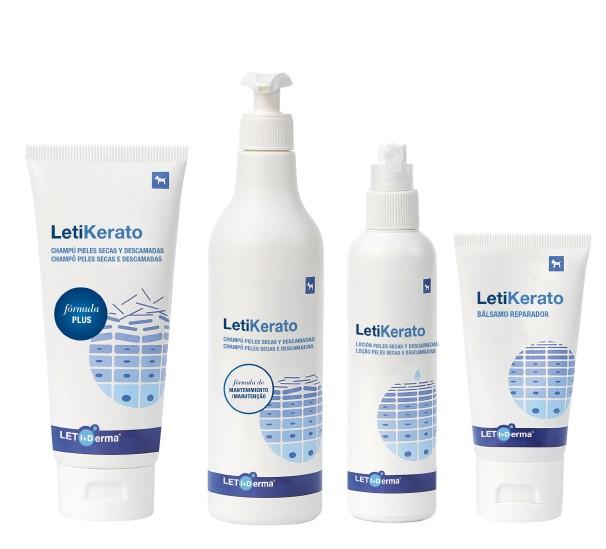 Línea de productos LETI Derma Kerato